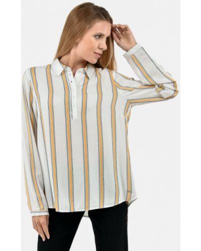 Блузка с длинными рукавами - белая Broadway