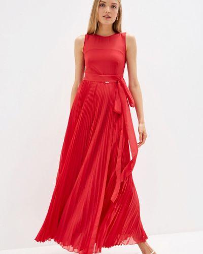Повседневное платье красный осеннее Liu Jo