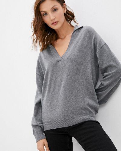 Пуловер - серый Moru