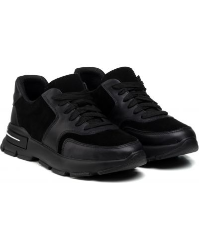 Кроссовки - черные Kento