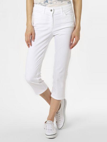 Białe spodnie Zerres