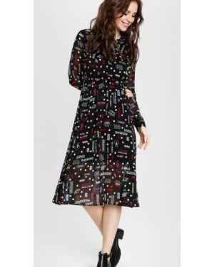 Платье миди на пуговицах платье-рубашка Ostin