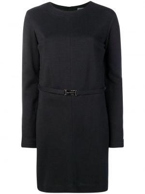 Платье с поясом винтажная прямое Versace Pre-owned
