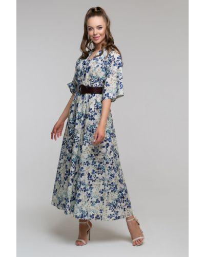 Платье с V-образным вырезом Петербургский Швейный Дом