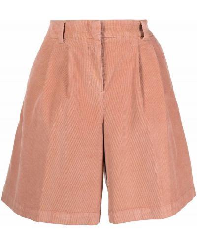 Хлопковые шорты - розовые Pt01