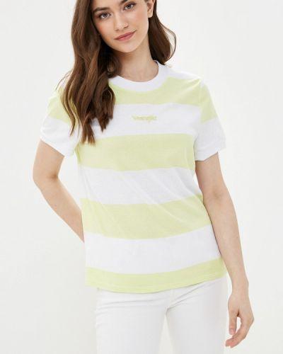 Желтая футболка с короткими рукавами Wrangler
