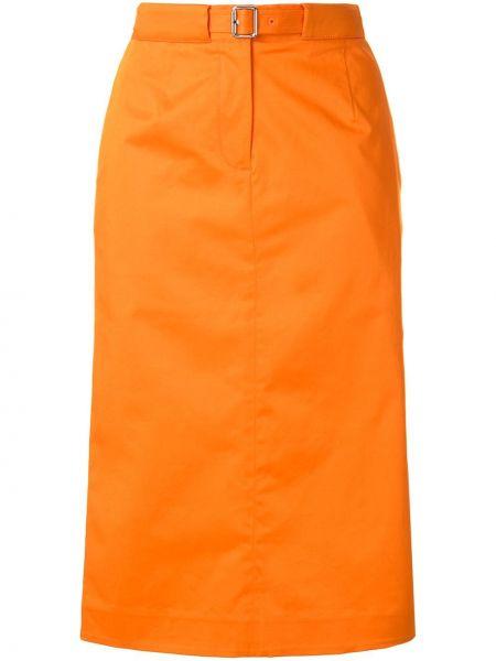 Юбка карандаш - оранжевая Ck Calvin Klein