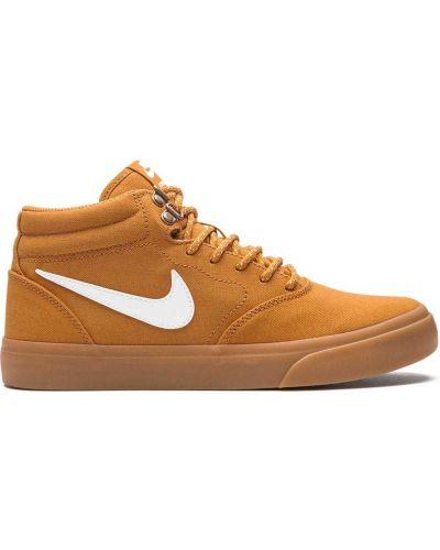 Top koronkowy sznurowany z nylonu Nike