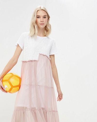 Платье весеннее розовый Imperial