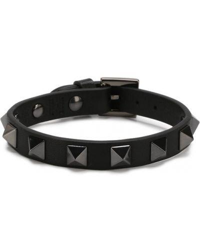 Черный браслет Valentino