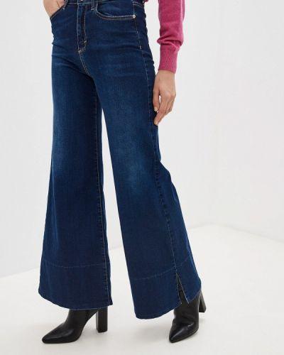 Широкие джинсы расклешенные синие Miss Miss By Valentina