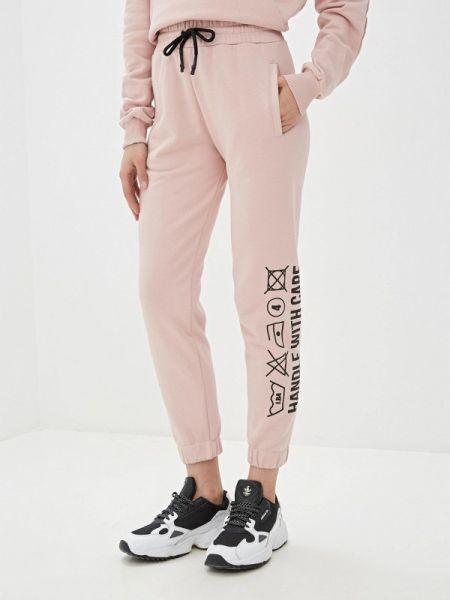 Розовые спортивные брюки J.b4