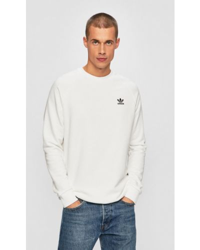 Кофта с вырезом белый Adidas Originals