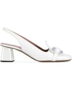Кожаные туфли с квадратным носком на каблуке Rayne