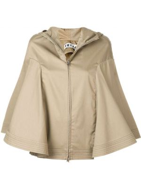 Куртка с капюшоном мятная Teija