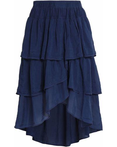 Асимметричная юбка - синяя Clu