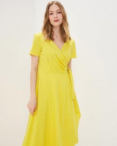Желтое платье Gerry Weber