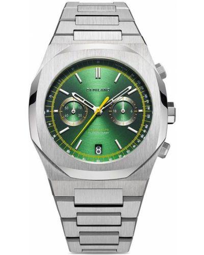 Кварцевые часы - зеленые D1 Milano