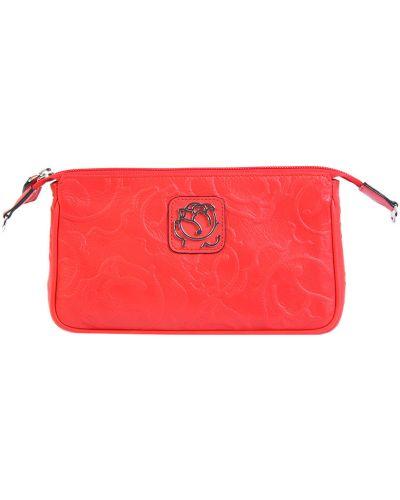Клатч красный оранжевый Braccialini