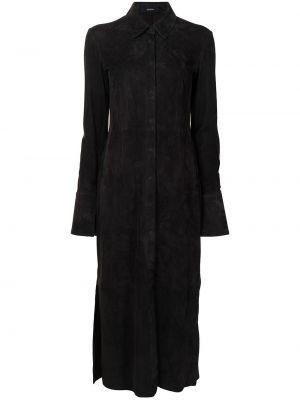 Платье миди классическое - коричневое Joseph