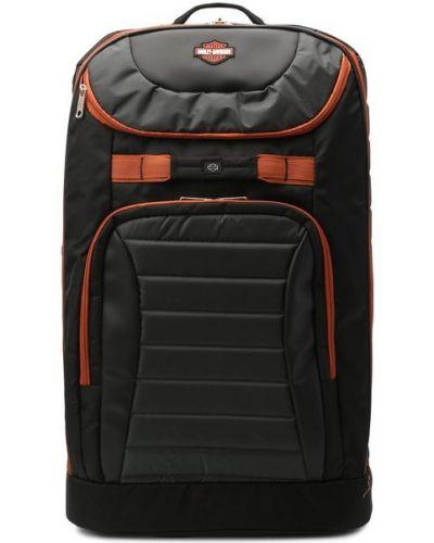 Нейлоновый чемодан на молнии с карманами Harley Davidson