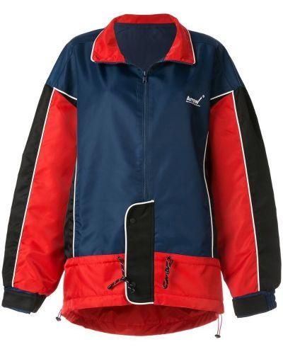 Синяя спортивная куртка с манжетами Ader Error