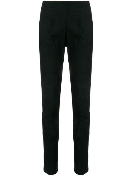 Хлопковые черные брюки Rundholz Black Label