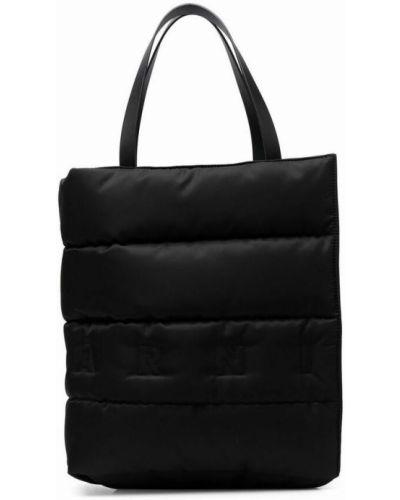 Czarna torebka Marni