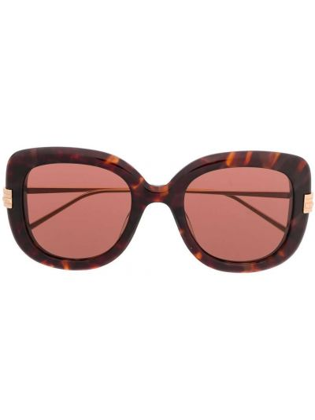 Прямые муслиновые солнцезащитные очки круглые Boucheron Eyewear