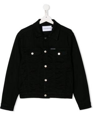 Куртка черная джинсовая Calvin Klein Kids