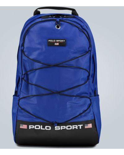 Plecak sportowy - niebieski Polo Ralph Lauren