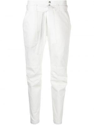 Białe spodnie bawełniane Rag & Bone