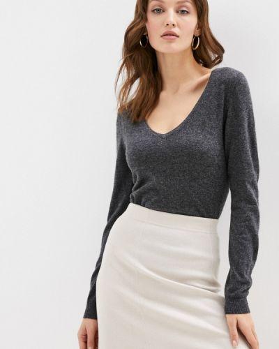 Серый пуловер William De Faye