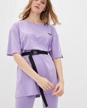 Костюмный фиолетовый спортивный костюм Lilove