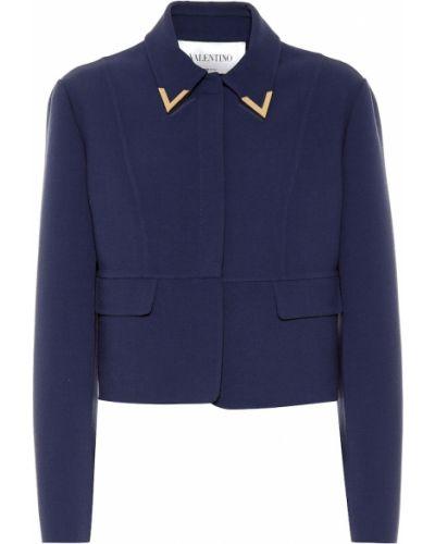 Куртка жёлтая синий Valentino