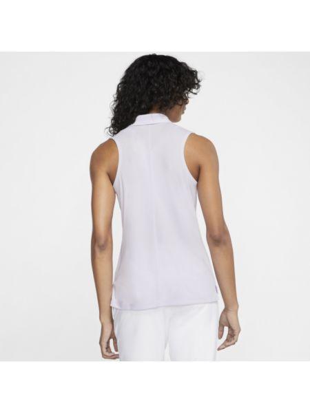 T-shirt bez rękawów - fioletowa Nike