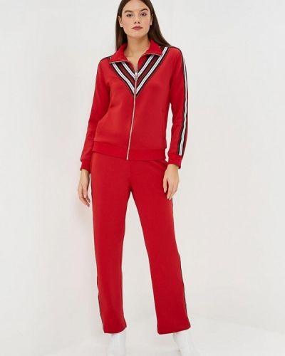 Красный брючный костюм Fashion.love.story