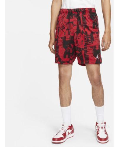 Czerwone szorty Jordan
