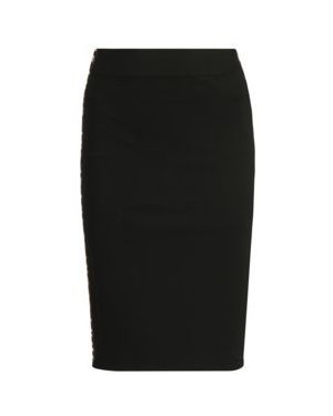 Czarna spódnica ołówkowa z wiskozy Dkny