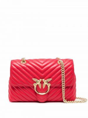 Złota torebka na łańcuszku Pinko