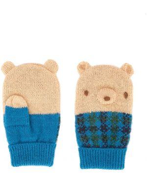 Rękawiczki niebieski Familiar
