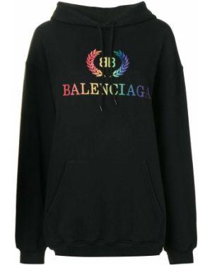 Bluza z kapturem z kapturem ulica Balenciaga