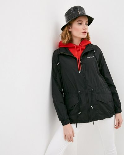 Облегченная черная куртка Calvin Klein