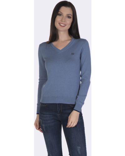 Синий пуловер Felix Hardy
