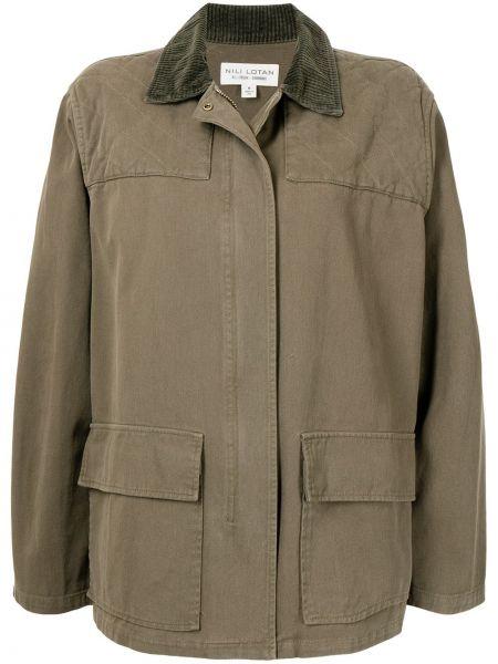 Куртка милитари - зеленая Nili Lotan