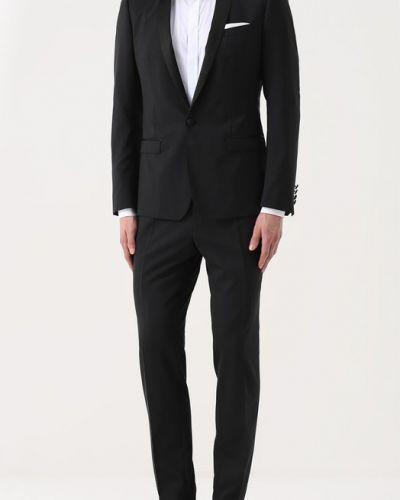 Черный смокинг с карманами Dolce & Gabbana
