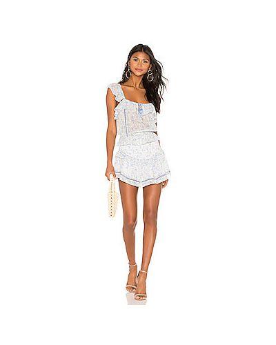 Платье с поясом с бахромой через плечо Saylor