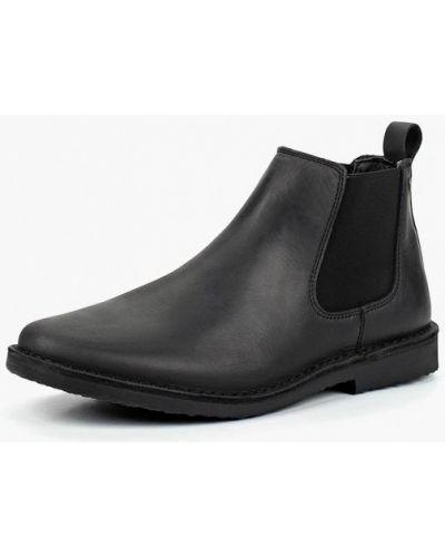 Ботинки челси осенние кожаные Jack & Jones