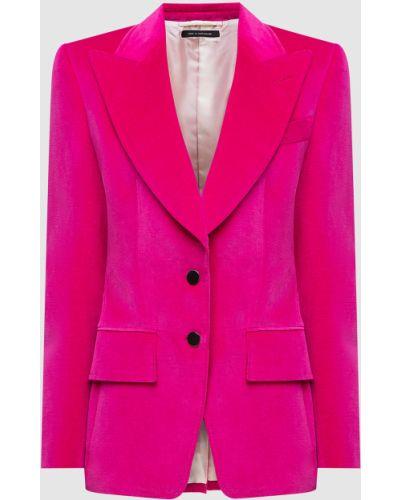 Розовый пиджак Tom Ford
