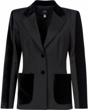 Черный пиджак Cavalli Class